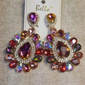 CLIP formal/costume earrings